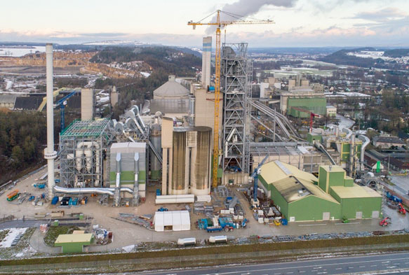 Cement plant in Germany