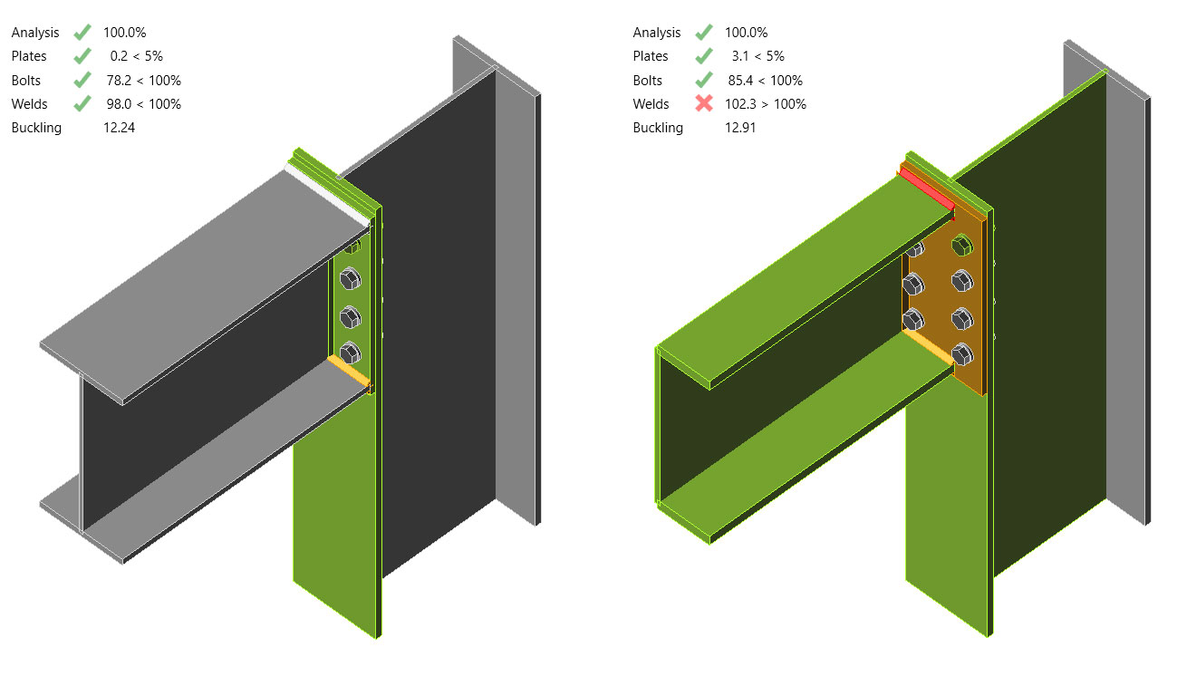IDEA StatiCa   Steel joints with PFCs: problem solved!