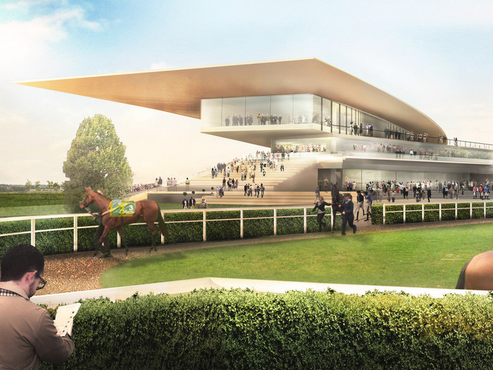 IDEA StatiCa UK - Curragh racecourse, Ireland
