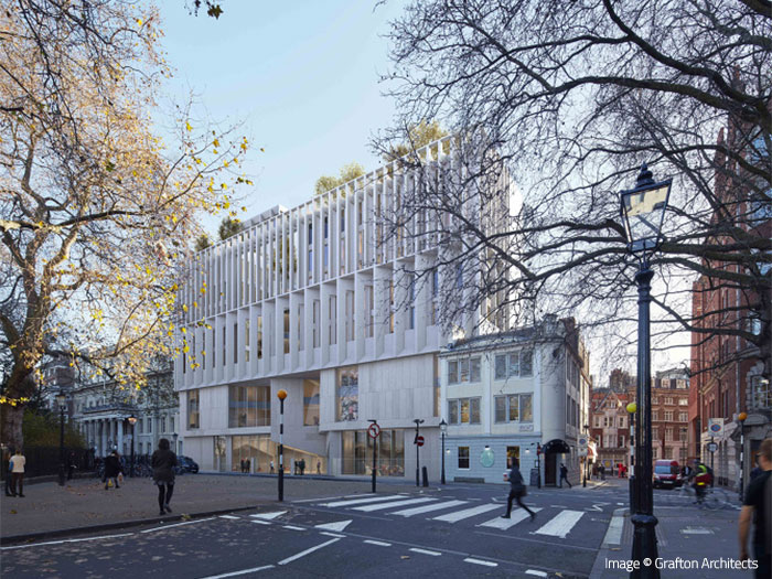 The Marscahll Building - LSE, London