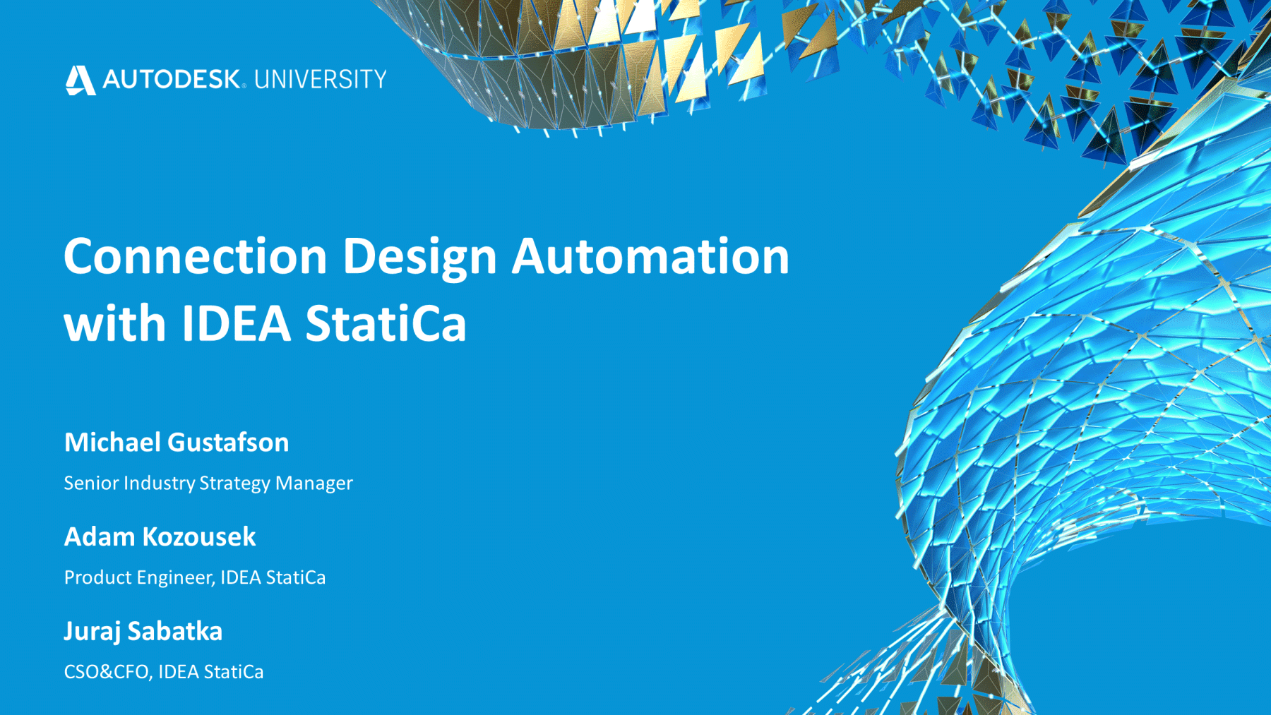 Connection Design Automation with IDEA StatiCa