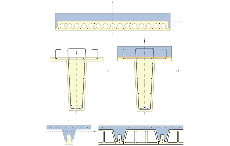 IDEA StatiCa Concrete - Complex beams