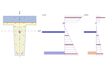 IDEA StatiCa Concrete - Shear stress at joint