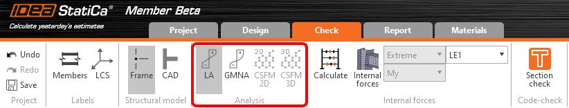 IDEA StatiCa UK - Concrete analysis