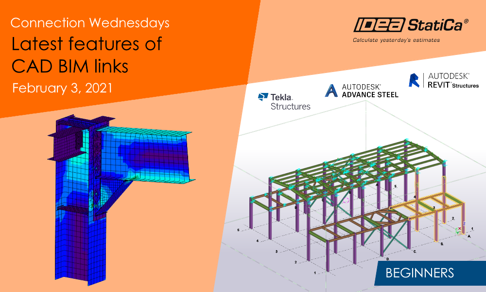 Connection Wednesdays - Latest features of CAD BIM links