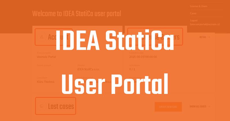 IDEA StatiCa - User Portal