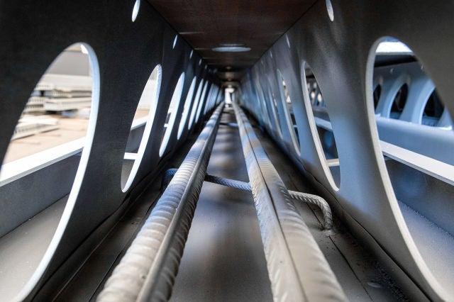IDEA StatiCa UK - ICON Vaxjo project - Delta beam inside
