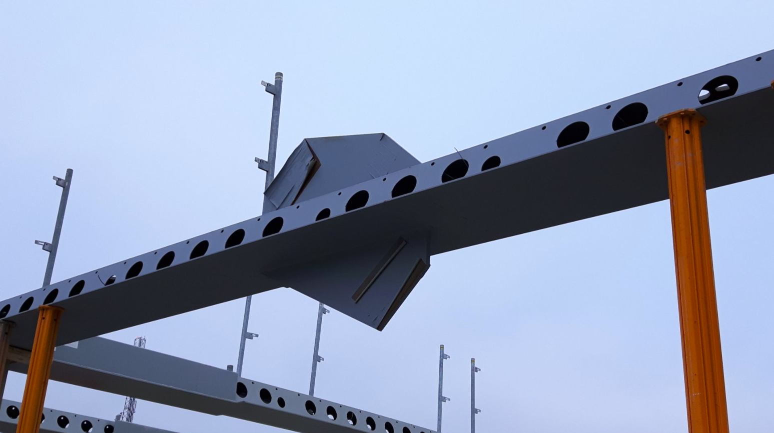 IDEA StatiCa UK - ICON Vaxjo project - Steel beam