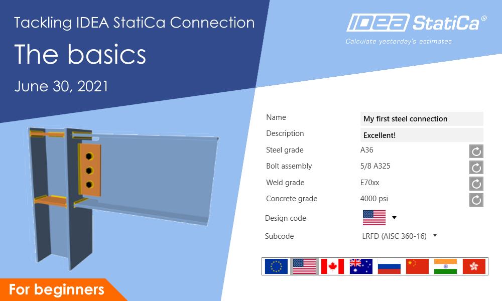 IDEA StatiCa UK - Tackling IDEA StatiCa Connection - The basics