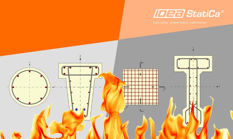 IDEA StatiCa - Fire resistance checks