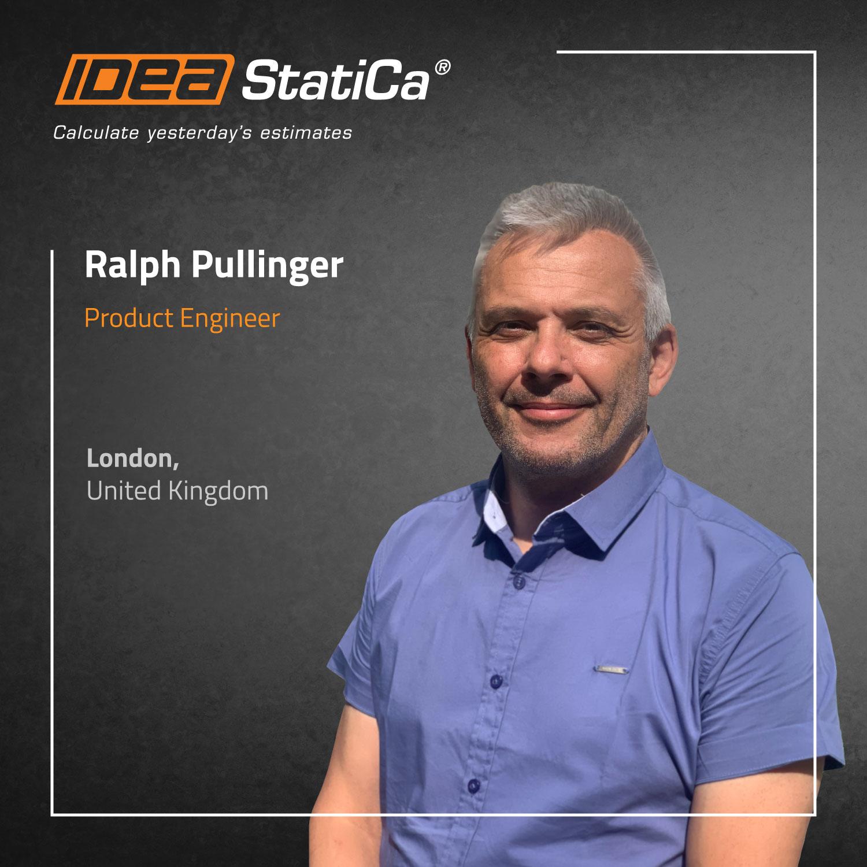 IDEA StatiCa UK - Ralph Pullinger