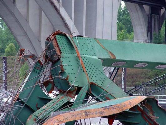 IDEA StatiCa - Bridge collapse 2
