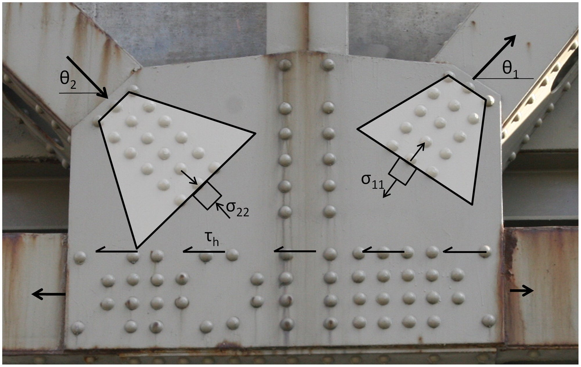 IDEA StatiCa - Whitmore cross-section 2
