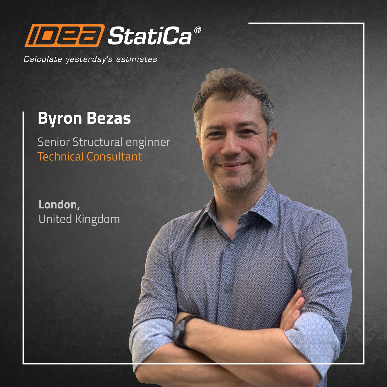 IDEA StatiCa UK - Byron Bezas