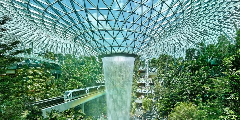 Jewel Changi Airport - IStructE Awards 2021 - IDEA StatiCa UK
